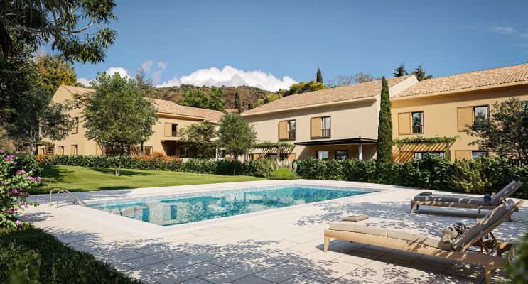Aix-en-Provence programme immobilier neuf « Le Clos Saint Albert » en Loi Pinel