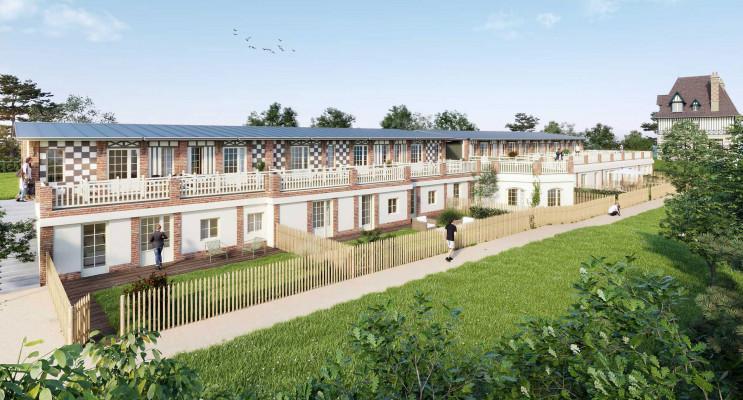 Trouville-sur-Mer programme immobilier à rénover « Manoir des Creuniers » en Déficit Foncier