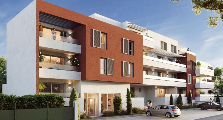 Nîmes programme immobilier neuf « Villa Coustiera » en Loi Pinel