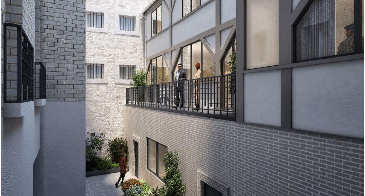 Paris programme immobilier neuf « Carré Parmentier