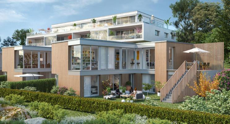Mont-Saint-Aignan programme immobilier neuf « Le Domaine des Oliviers » en Loi Pinel