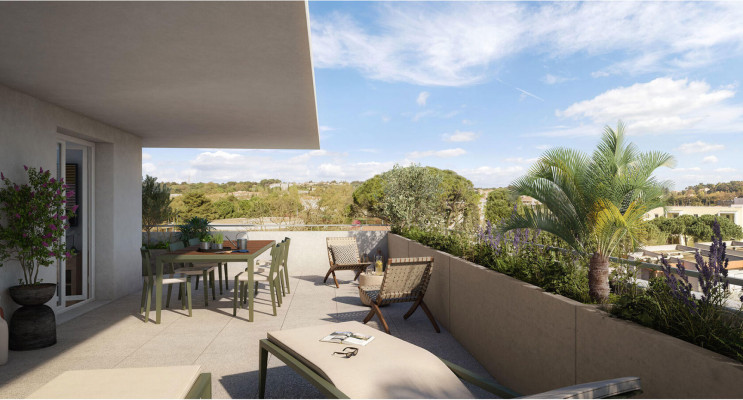 Montpellier programme immobilier neuf «  n°219719 » en Loi Pinel