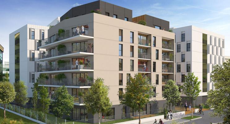 Reims programme immobilier neuf « Métropolis » en Loi Pinel