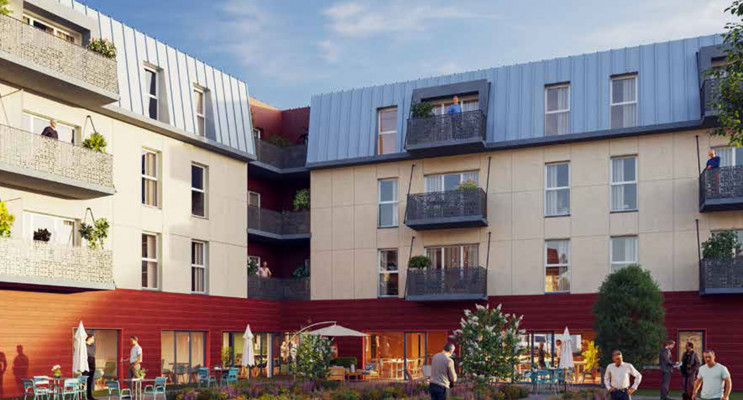 Ifs programme immobilier neuf « Les Arilles »