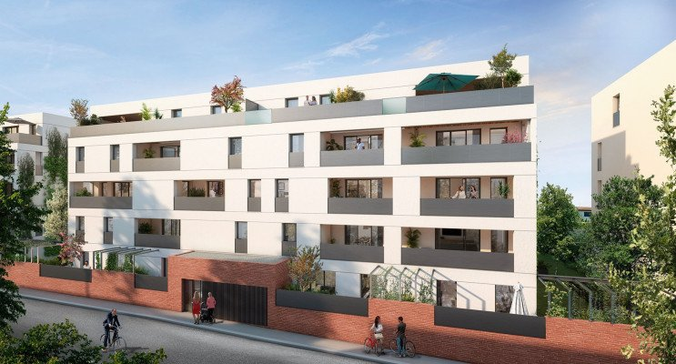 Toulouse programme immobilier neuf « Ô Brienne » en Loi Pinel