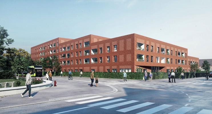 Lens programme immobilier neuf « RSS Le Tandem »