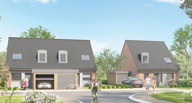 Carvin programme immobilier neuf « Le Clos du Colibri »