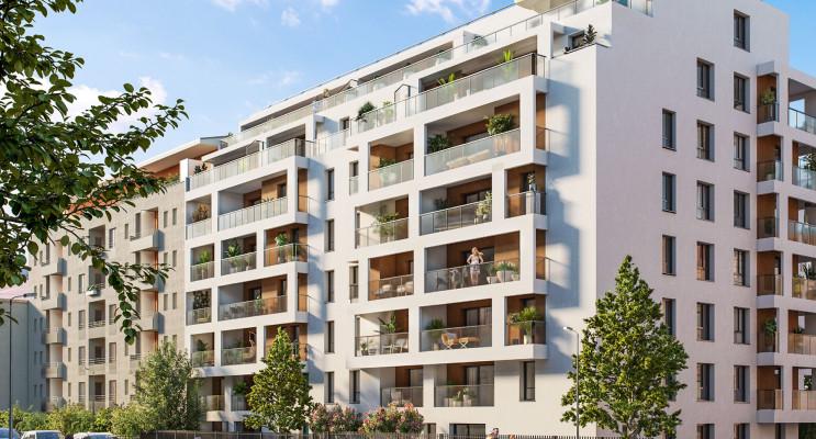 Annemasse programme immobilier neuf « Les balcons d'Orion » en Loi Pinel
