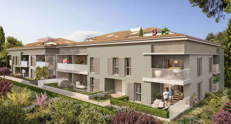 Cogolin programme immobilier neuf « Eden Cogolin 2 » en Loi Pinel