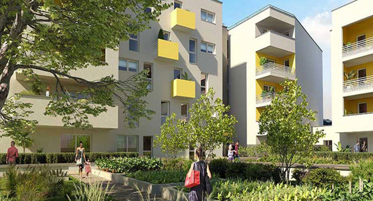 Marseille programme immobilier neuf « Yellow » en Loi Pinel