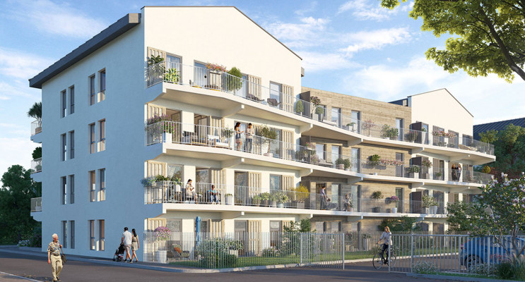 Belley programme immobilier neuf « L'Instant »