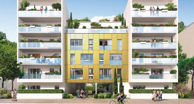 Nantes programme immobilier neuf « Green Living » en Loi Pinel
