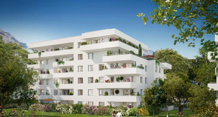Meylan programme immobilier neuf « Le Domaine des Saules Blancs - Bât. K » en Loi Pinel