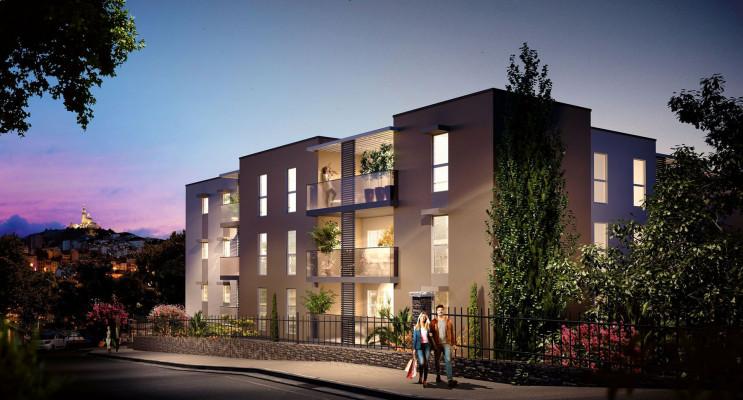 Marseille programme immobilier neuf « Les Hauts de Saint Loup