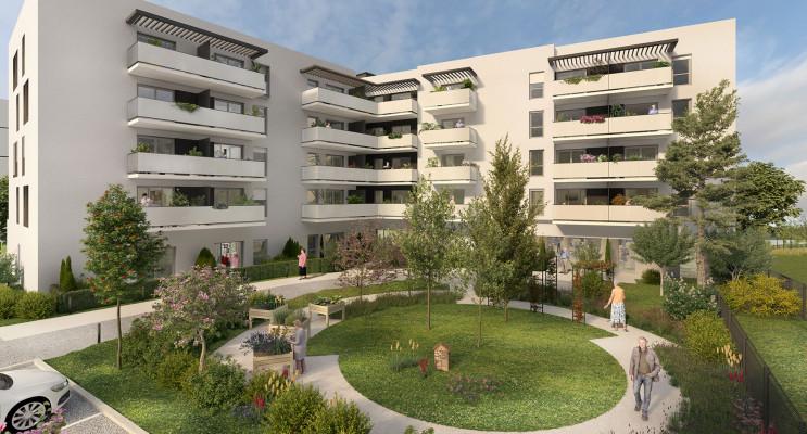 Monteux programme immobilier neuf « Les Senioriales de Monteux Porte d'Avignon » en Loi Pinel