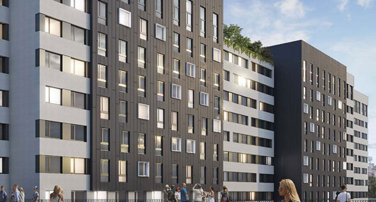 Créteil programme immobilier neuf « Good Morning Campus Tr3
