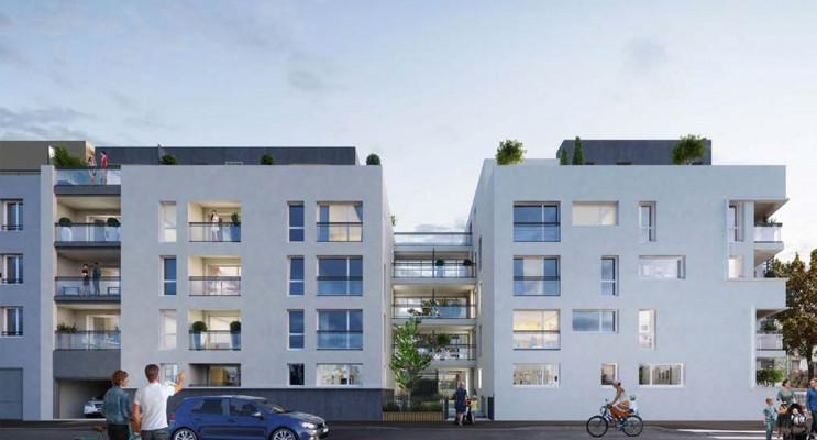 Vénissieux programme immobilier neuf « Côté 8ème Vénissieux » en Loi Pinel