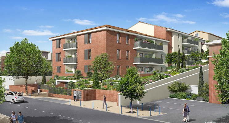 Castanet-Tolosan programme immobilier neuf « Green Park » en Loi Pinel
