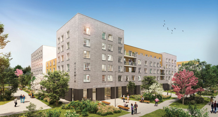 Amiens programme immobilier neuf « Vitam'In »