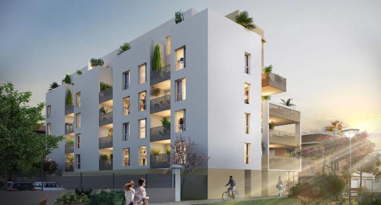 Clermont-Ferrand programme immobilier neuf « L'Hélix » en Loi Pinel
