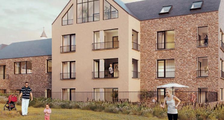 Cancale programme immobilier neuf « Domaine Vaujoyeux »