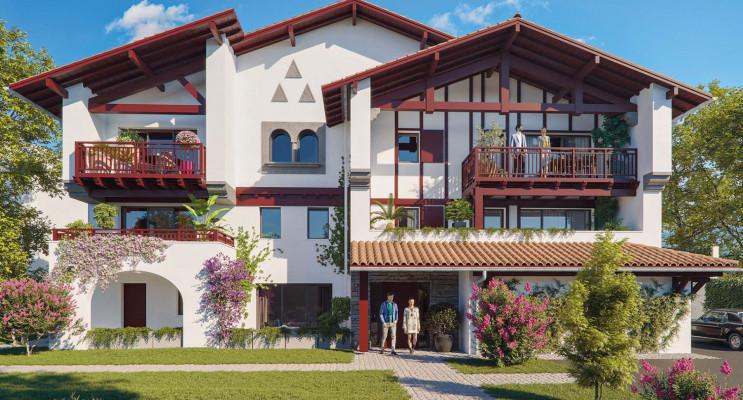 Biarritz programme immobilier neuf «  n°219909 » en Loi Pinel