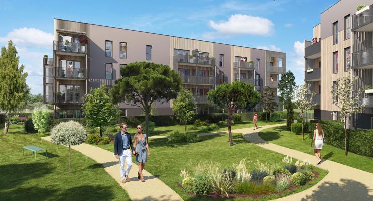 Angers programme immobilier neuf « Arboréa » en Loi Pinel