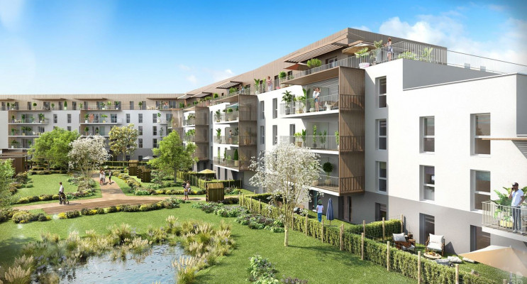 Angers programme immobilier neuf « Astrée