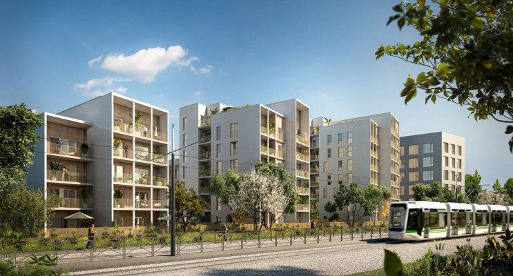 Nantes programme immobilier neuf « Ecloz » en Loi Pinel