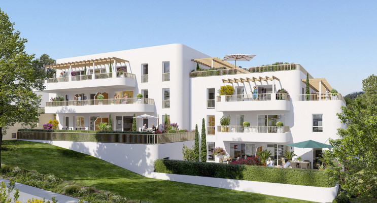 Marseille programme immobilier neuf «  n°219936 » en Loi Pinel