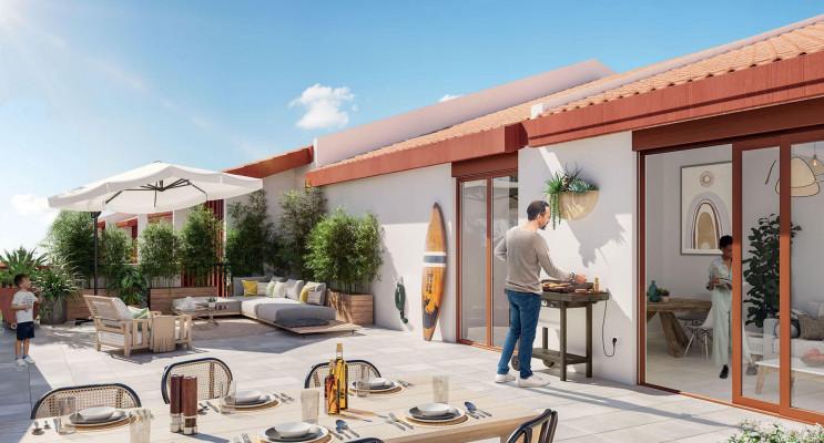 Anglet programme immobilier neuf « Errekã » en Loi Pinel