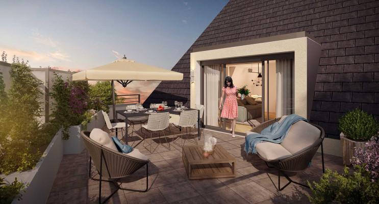 Saint-Avertin programme immobilier neuf « Terrasses du Petit Cher » en Loi Pinel