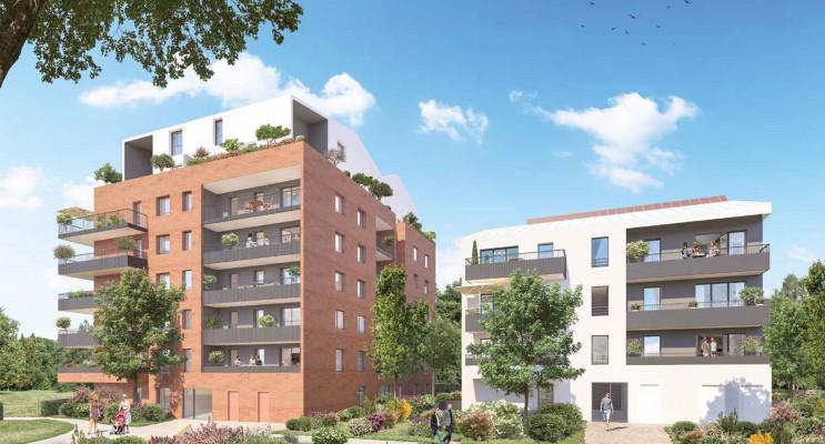 Toulouse programme immobilier neuf « Vert Eden Bât. B/C