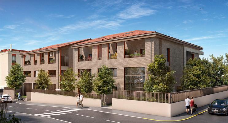 Toulouse programme immobilier neuf « L'Alto » en Loi Pinel