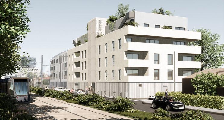 Bordeaux programme immobilier neuf « Les Terrasses de Victoria