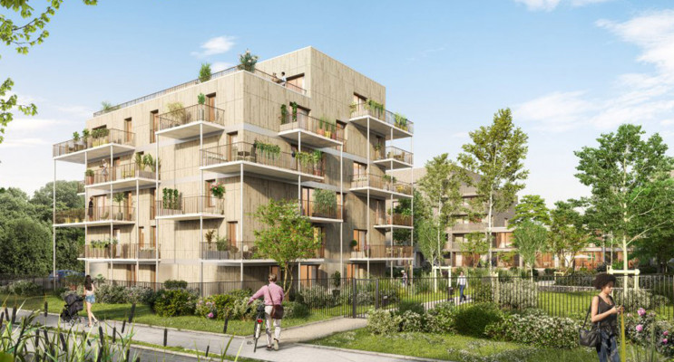 Amiens programme immobilier neuf « L'Archipel