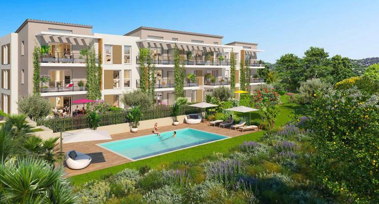 Saint-Laurent-du-Var programme immobilier neuf « Domaine Terre Nature » en Loi Pinel