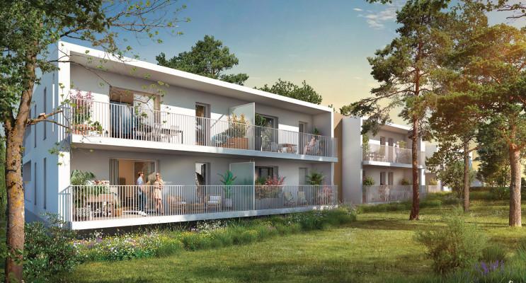 Montpellier programme immobilier neuf « 86 Parc » en Loi Pinel
