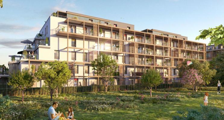Strasbourg programme immobilier neuf « Secret Garden 3 » en Loi Pinel