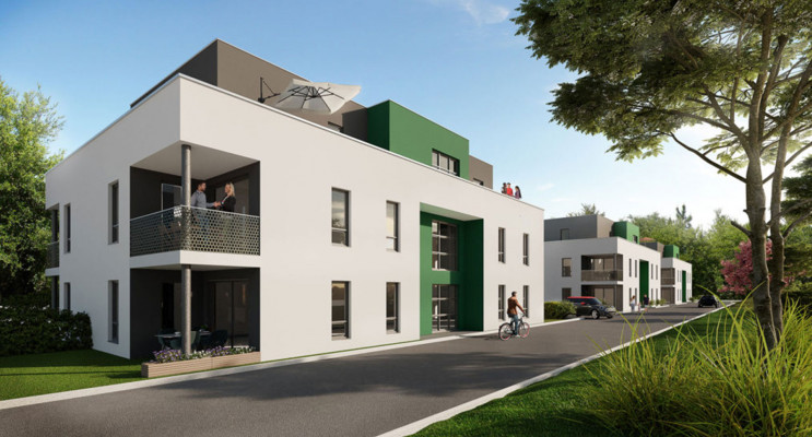 Habsheim programme immobilier neuf « Les Bleuets »
