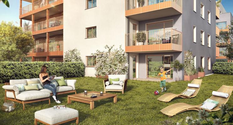 Annemasse programme immobilier neuf « Magnolia » en Loi Pinel