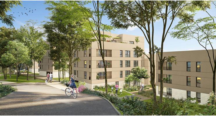 Lyon programme immobilier neuf « Green Side » en Loi Pinel