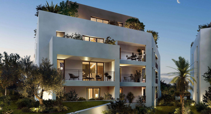 Montpellier programme immobilier neuf « Le Domaine des Hirondelles