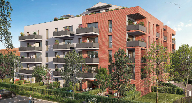 Toulouse programme immobilier neuf « Terra Cotta