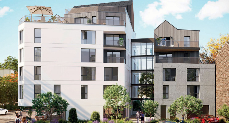 Rennes programme immobilier neuf « My Campus Voltaire