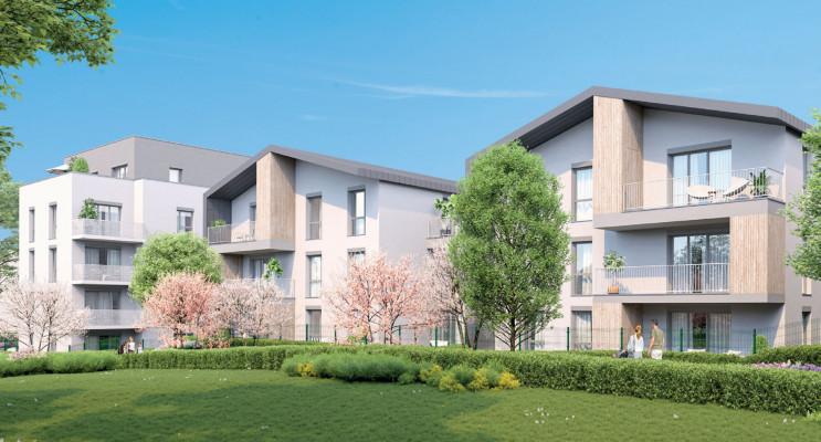 Vénissieux programme immobilier neuf « Quiétude » en Loi Pinel