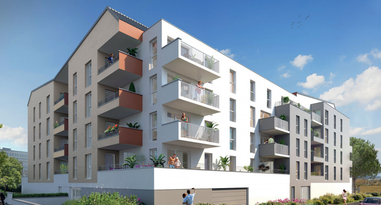 Metz programme immobilier neuf « Konnect » en Loi Pinel