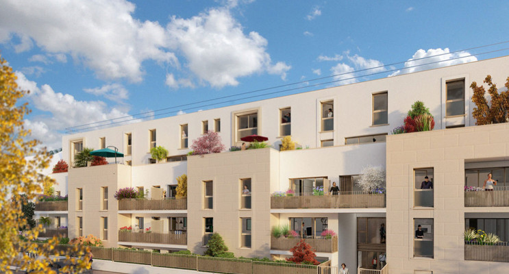 Villeparisis programme immobilier neuf « My Parisis » en Loi Pinel