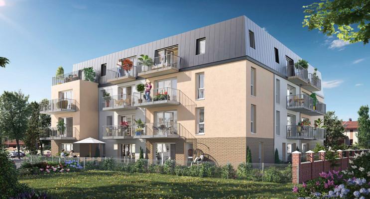 Déville-lès-Rouen programme immobilier neuf « Le 560' » en Loi Pinel