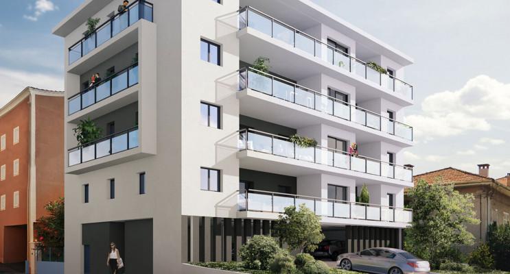 Fréjus programme immobilier neuf « Riviera Plage